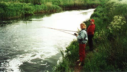 Fiskare vid Flians Övre